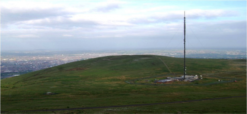 Divis Atmospheric Station